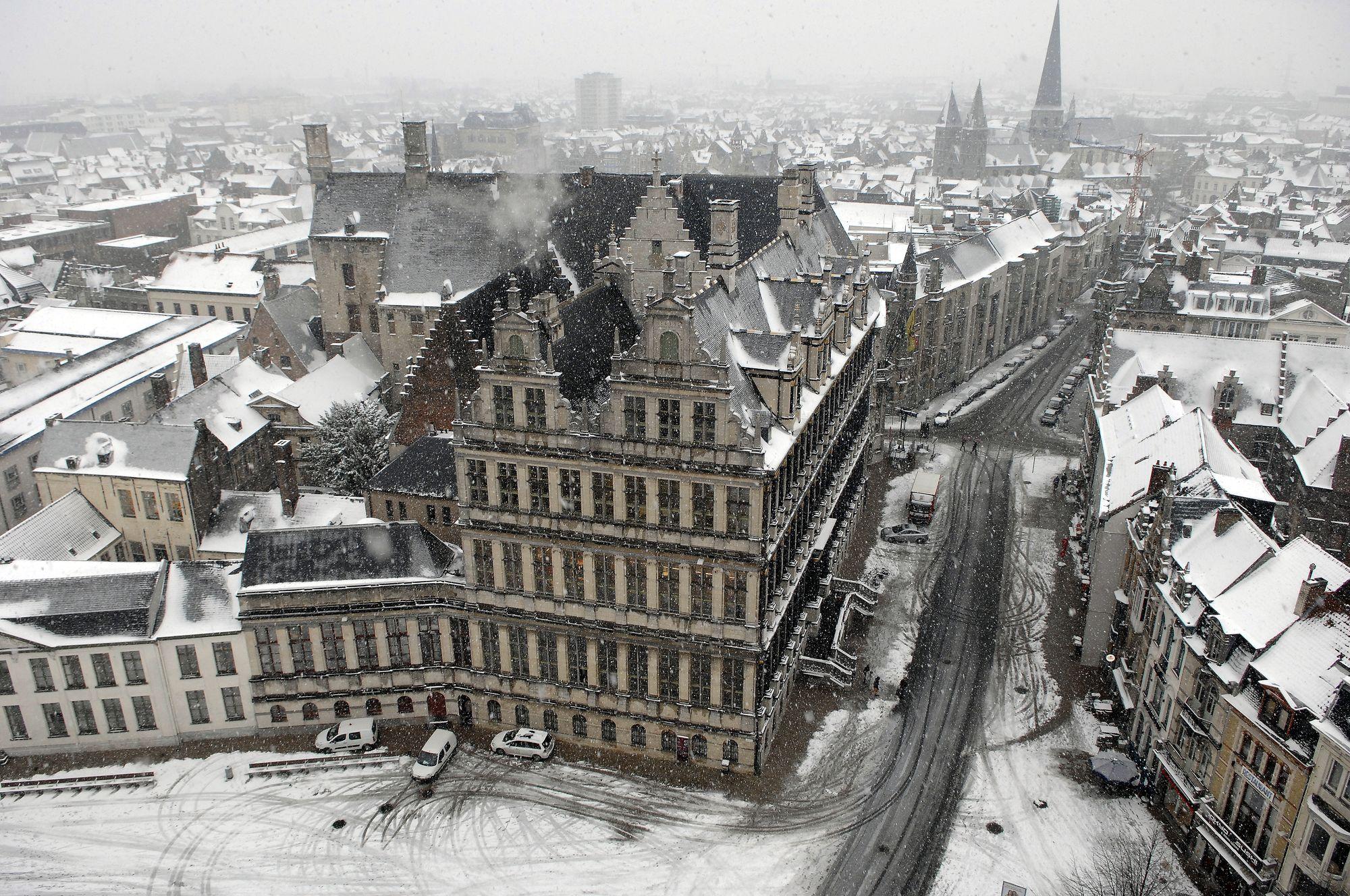 Sneeuw in Gent 17