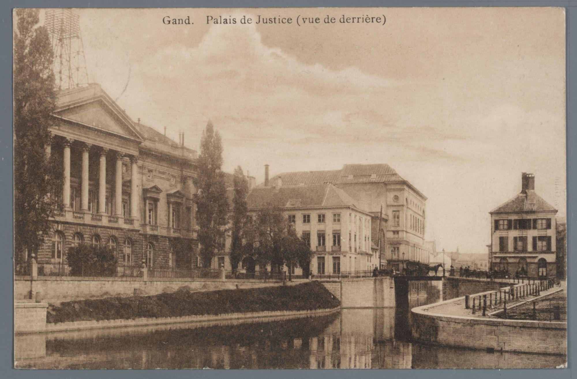 Gent: Koophandelsplein: Justitiepaleis