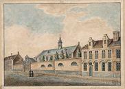 Gent: Rijke Gasthuis op de hoek van de Holstraat met de Hoogstraat