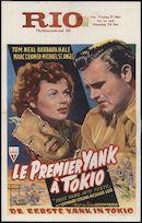 First Yank into Tokio | Le premier yank à Tokio | De eerste yank in Tokio, Rio, Gent, 21 - 24 mei 1948