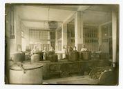 Gent: Citadelpark: Feestpaleis: Leichtkrankenabteilung (afdeling voor lichtgewonden): keuken, 1915-1916
