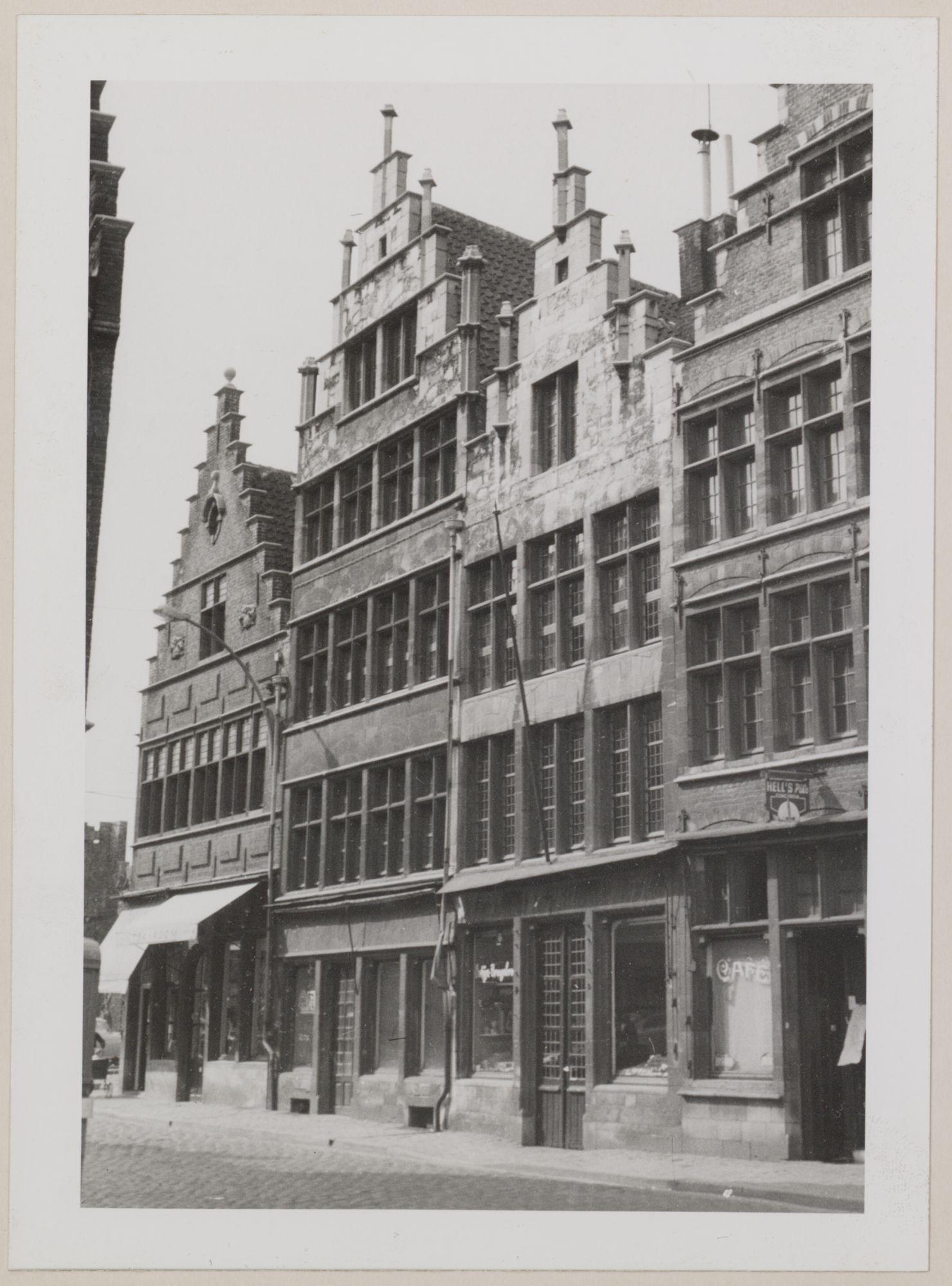 Gent: Trapgevelhuizen, Kraanlei