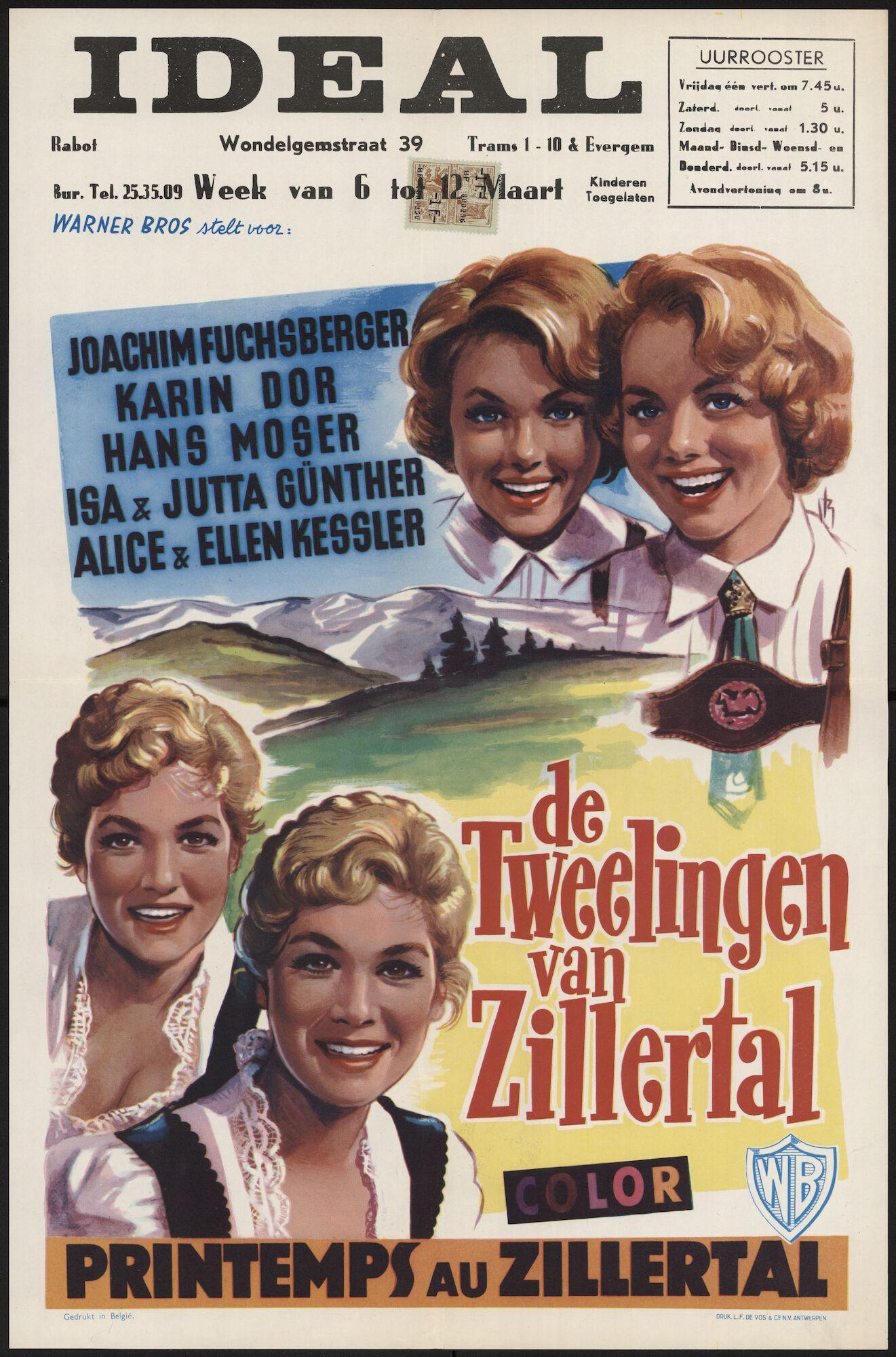 Printemps au Zillertal | De tweelingen van Zillertal, Ideal, Gent,