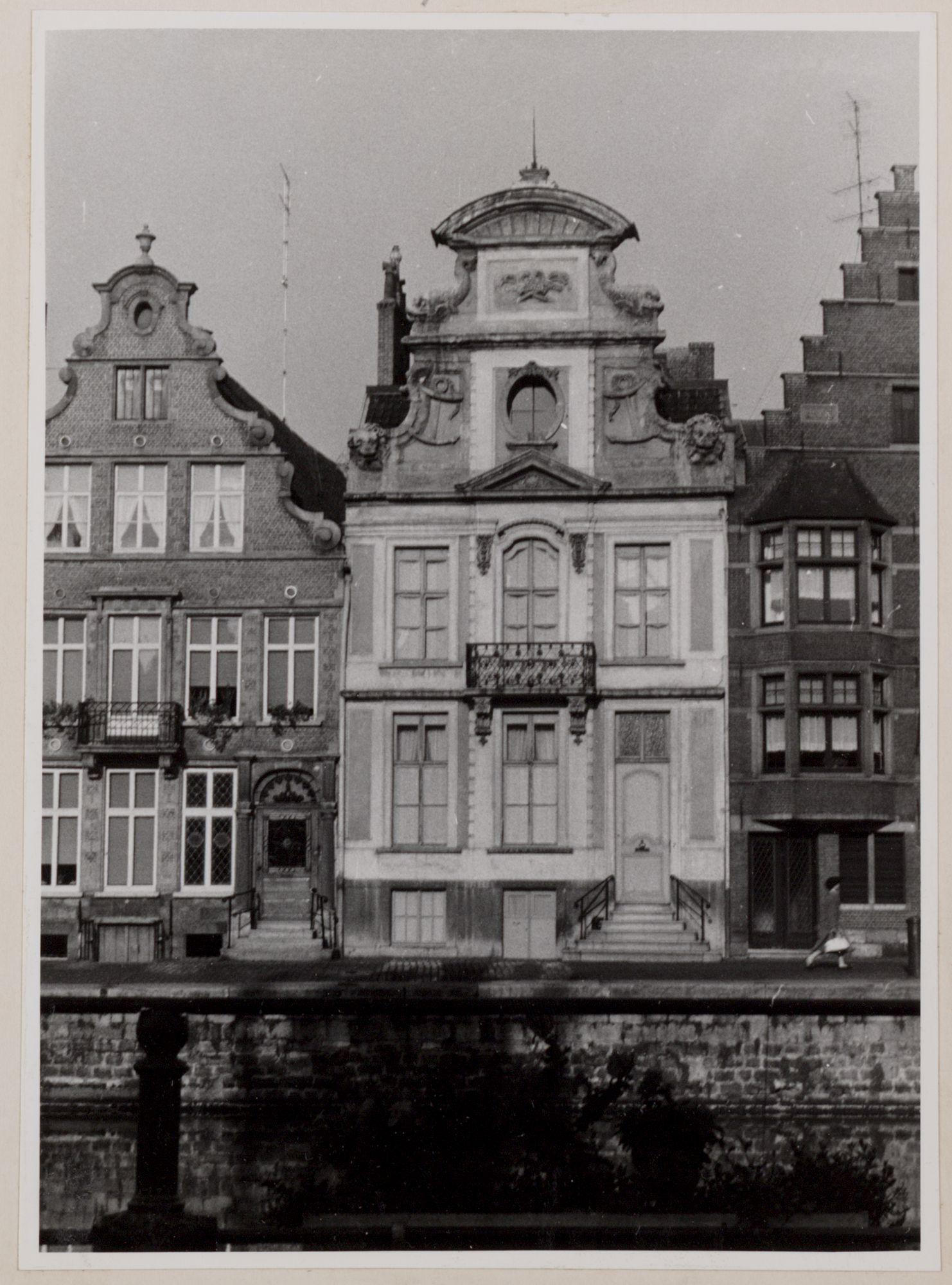 Gent: Korenlei. Huis der Onvrije Schippers