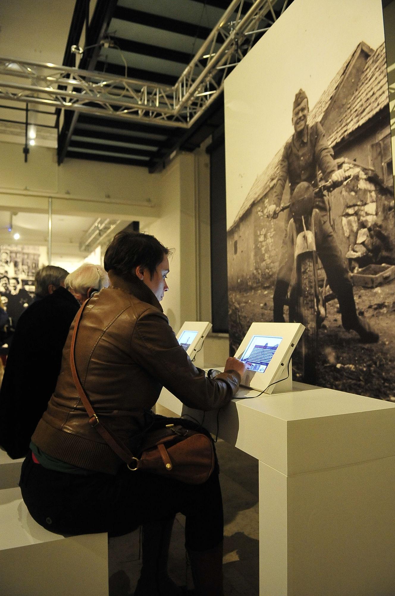 Onbekende beelden, sterke verhalen. Belgen in oorlog 45