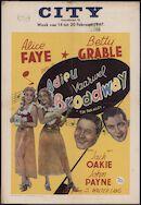Tin Pan Alley   Adieu Broadway   Vaarwel Broadway, City, Gent, 14 - 20 februari 1947