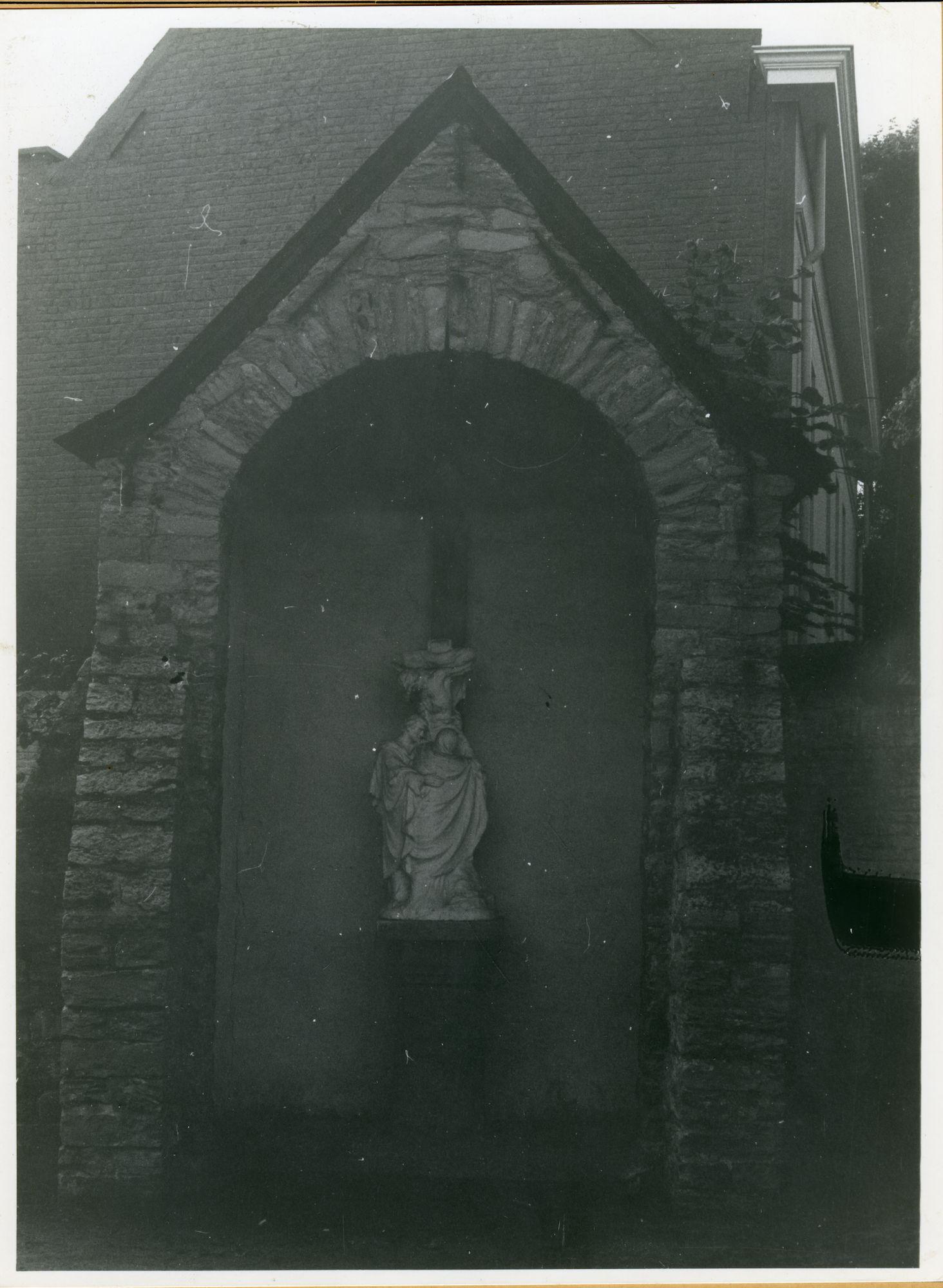 Afsnee: Pontstraat: Kapel, 1979