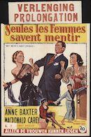 My Wife's Best Friend | Seules les femmes savent mentir | Alleen de vrouwen kunnen liegen, [Rex], Gent, vanaf 25 september 1953