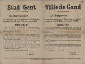 Stad Gent   Ville de Gand.