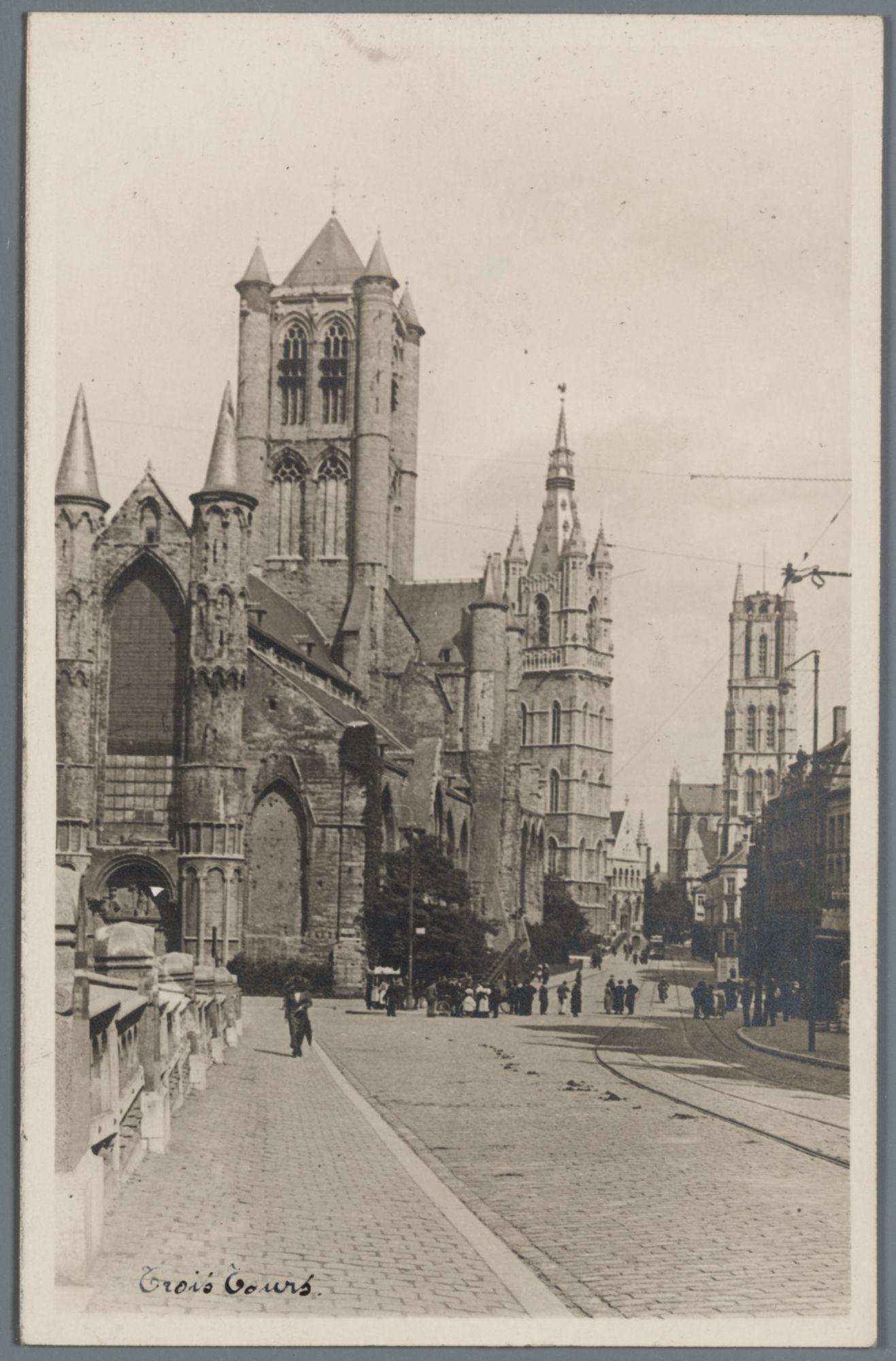 Gent: Sint-Michielsbrug met de drie torens