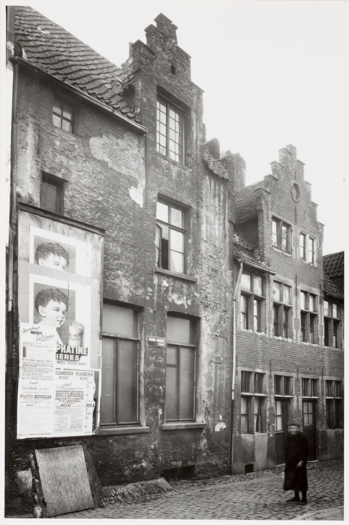 Gent: Trapgevelhuizen, Rodekoningstraat