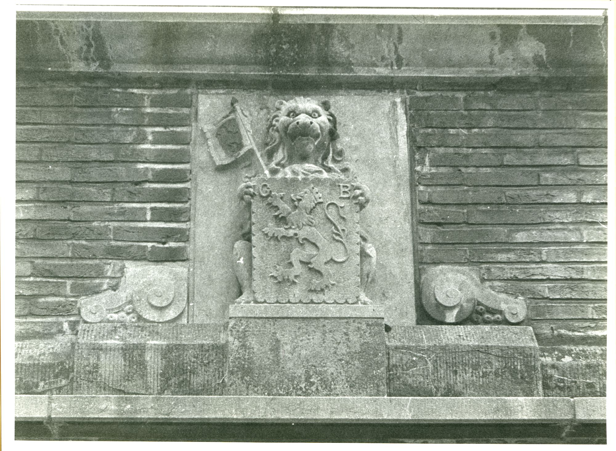 Gentbrugge: Tweekapellenstraat 19: Gevelbeeld, 1979