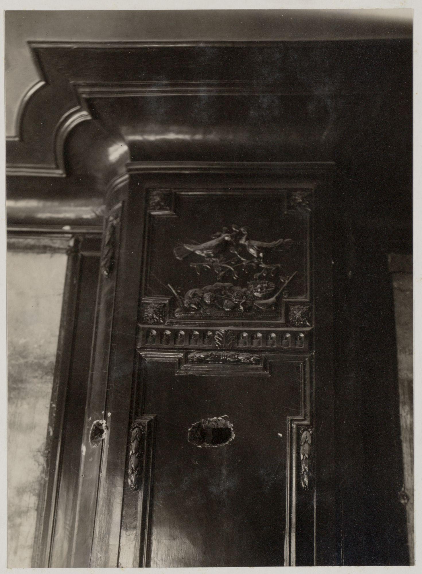 Gent: Kalandestraat: detail interieur