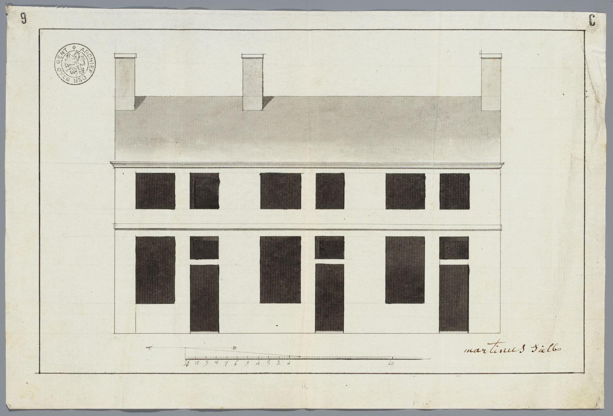 Bouwtekeningen Gent, 1580-1797