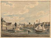 Gent: Lindenlei en Sint-Agnetebrug