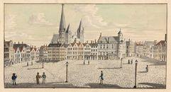 Gent: Vrijdagmarkt, Toreken en Sint-Jacobskerk