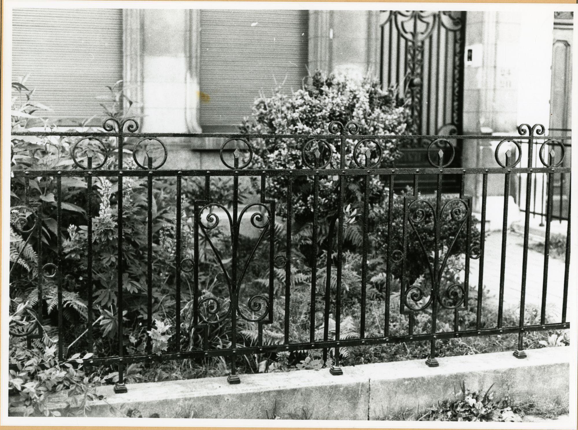 Gent: Congreslaan 24-40: hek, 1979