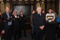huldiging stadhuis alain brandweer