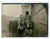 Gent: Belfort: weergang op de torenspits: observatiepost voor vijandige vliegtuigen, 1915-1916