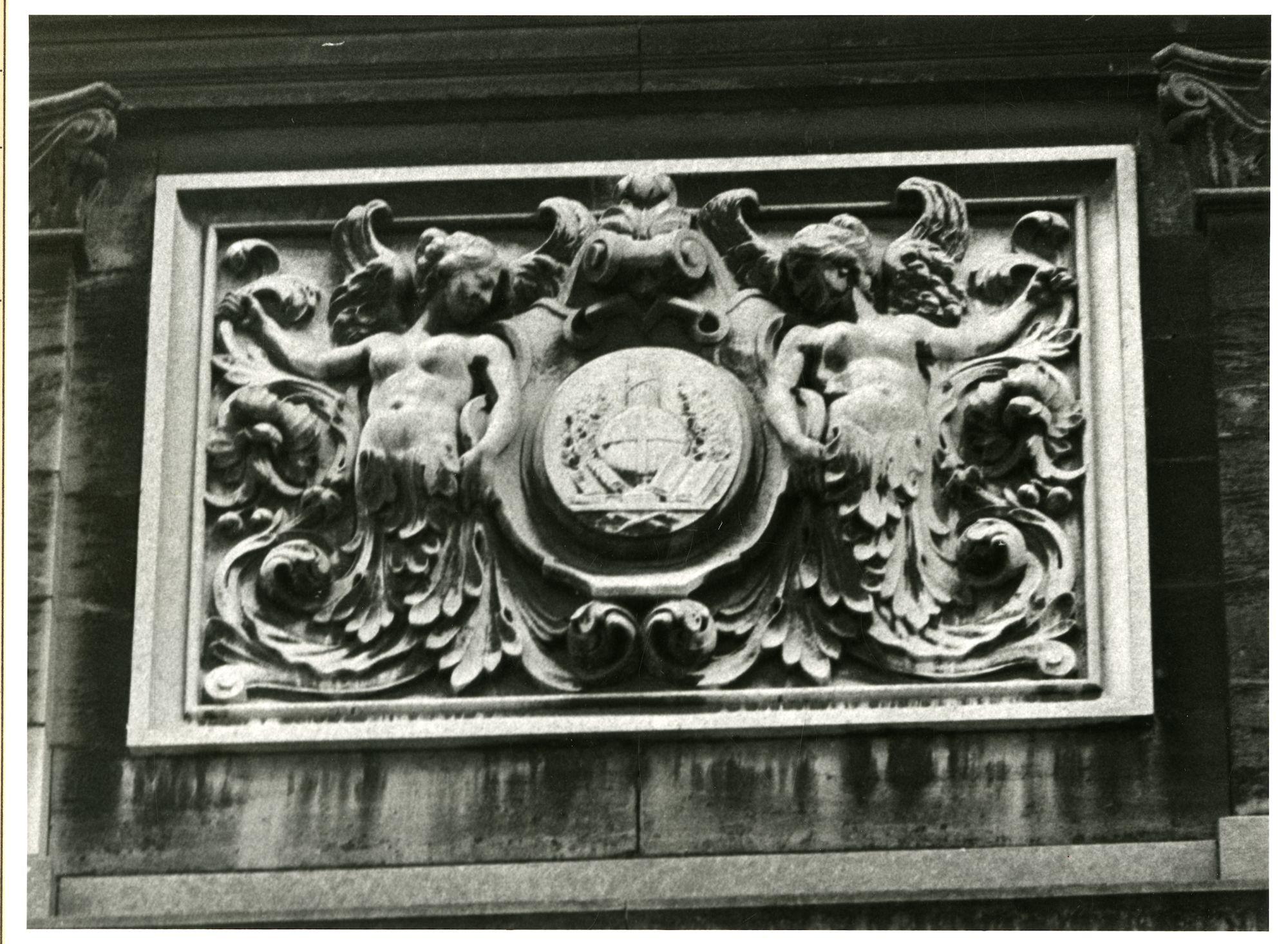 Gent: Jozef Plateaustraat: Beeldhouwwerk, 1981