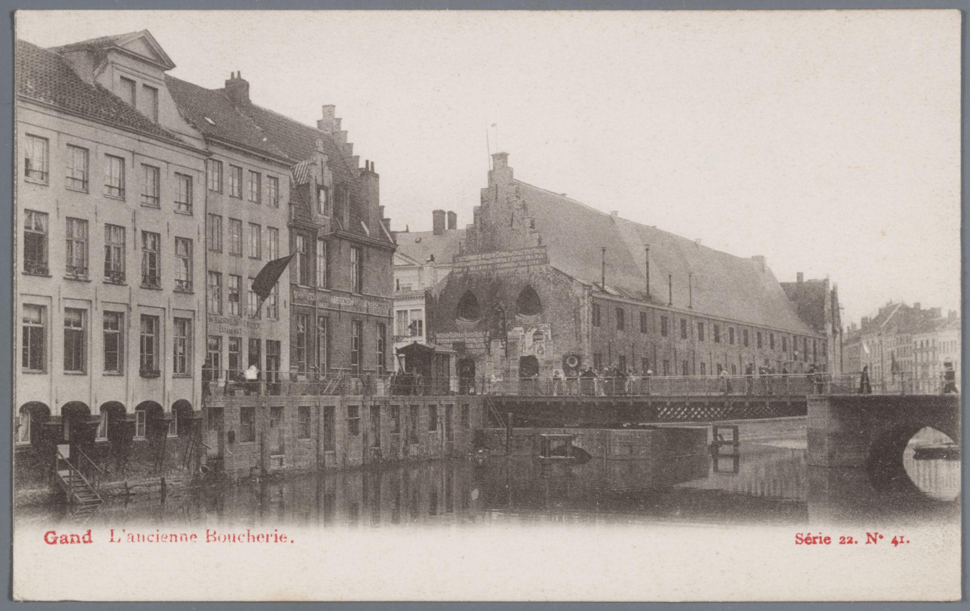 Gent: Groot Vleeshuis en Vleeshuisbrug