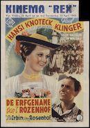 Die Erbin vom Rosenhof | De erfgename van 't Rozenhof, Kinema Rex, Gent, 16 - 22 april 1943