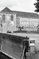 Gent: Academiebrug over de Lieve, Augustijnenklooster, Augustijnenkaai