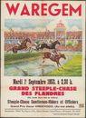 Waregem, Grand Steeple-Chase des Flandres, Steeple-Chase Gentlemen-Riders et Officiers, mardi 1r Septembre - dinsdag 1 september 1953