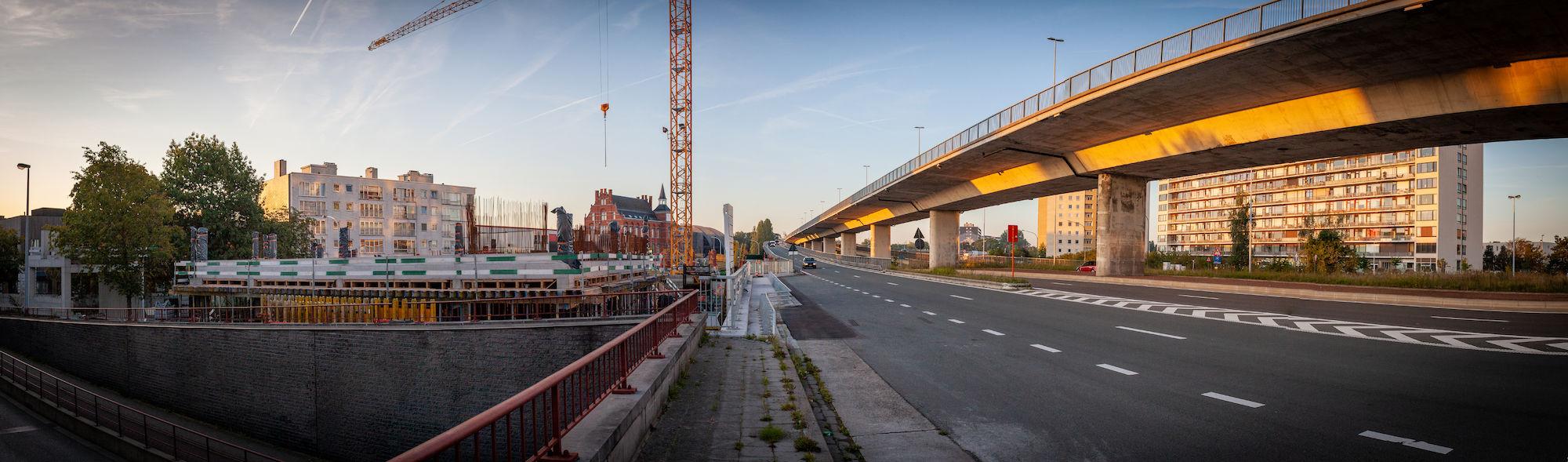 Wijk Ledeberg evolutie Stadsvernieuwing