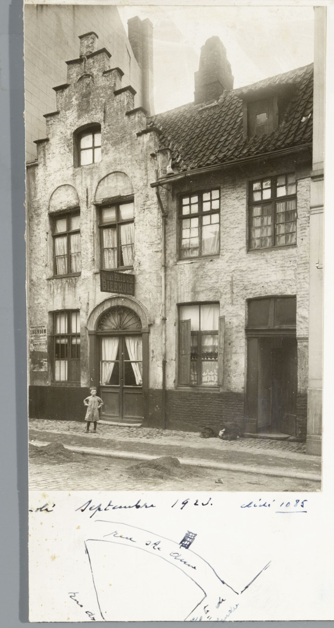 Gent: Trapgevelhuis, Sint-Annastraat