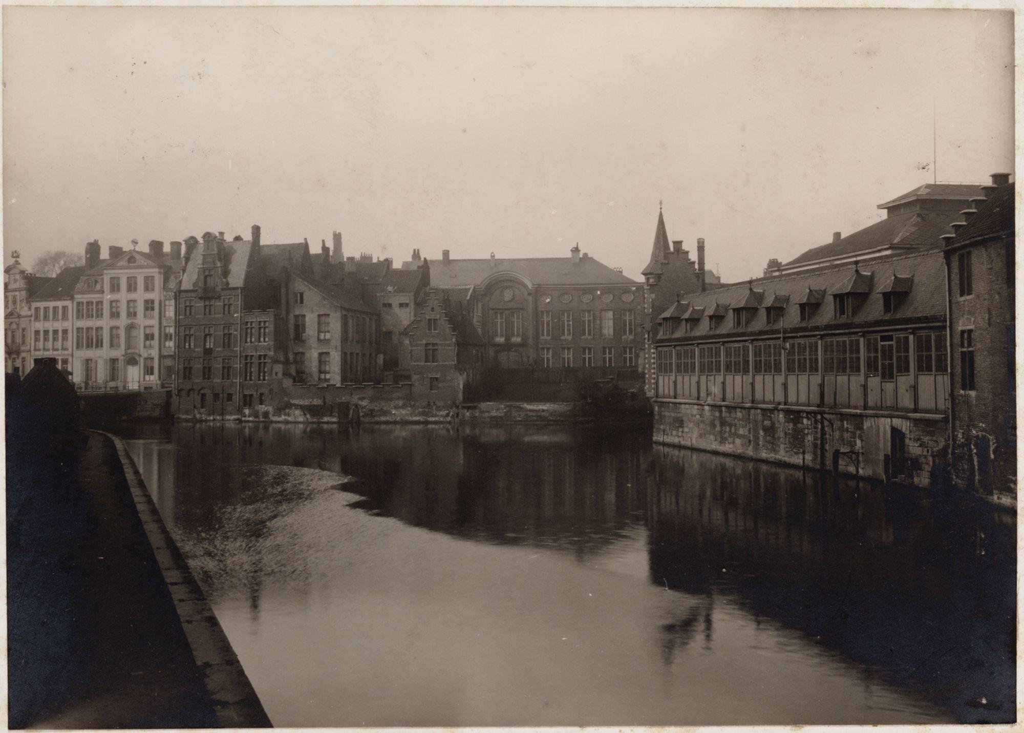 Gent: Hotel de Coninck (nu Designmuseum), Jan Breydelstraat