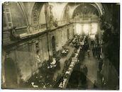Gent: Kouter: Paßzentrale (paspoortenbureau) in het gebouw La Concorde: Registratur (registratiedienst), 1915-1916