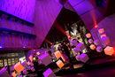 Eurocities Light Show onder de Stadshal