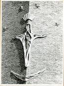 Gent: Blaisantvest: Maria Gorettikerk: Onze-Lieve-Vrouw van Beaurain (koningin met het gouden hart), 1979
