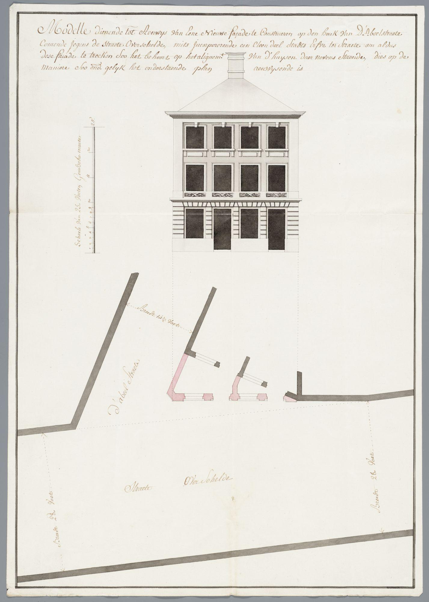 Bouwtekeningen Gent, 1671-1795