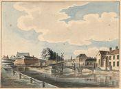 Gent: Tussen 't Pas (Pasbrug), Visserij en ruïnes van het Spanjaardenkasteel