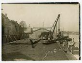 Gent: Handelsdok: laadplaats voor boten, 1915-1916