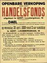 Openbare verkoop van het Handelsfonds uitgebaat te Gent, Lousbergskaai, nr.19, 29 april 1959