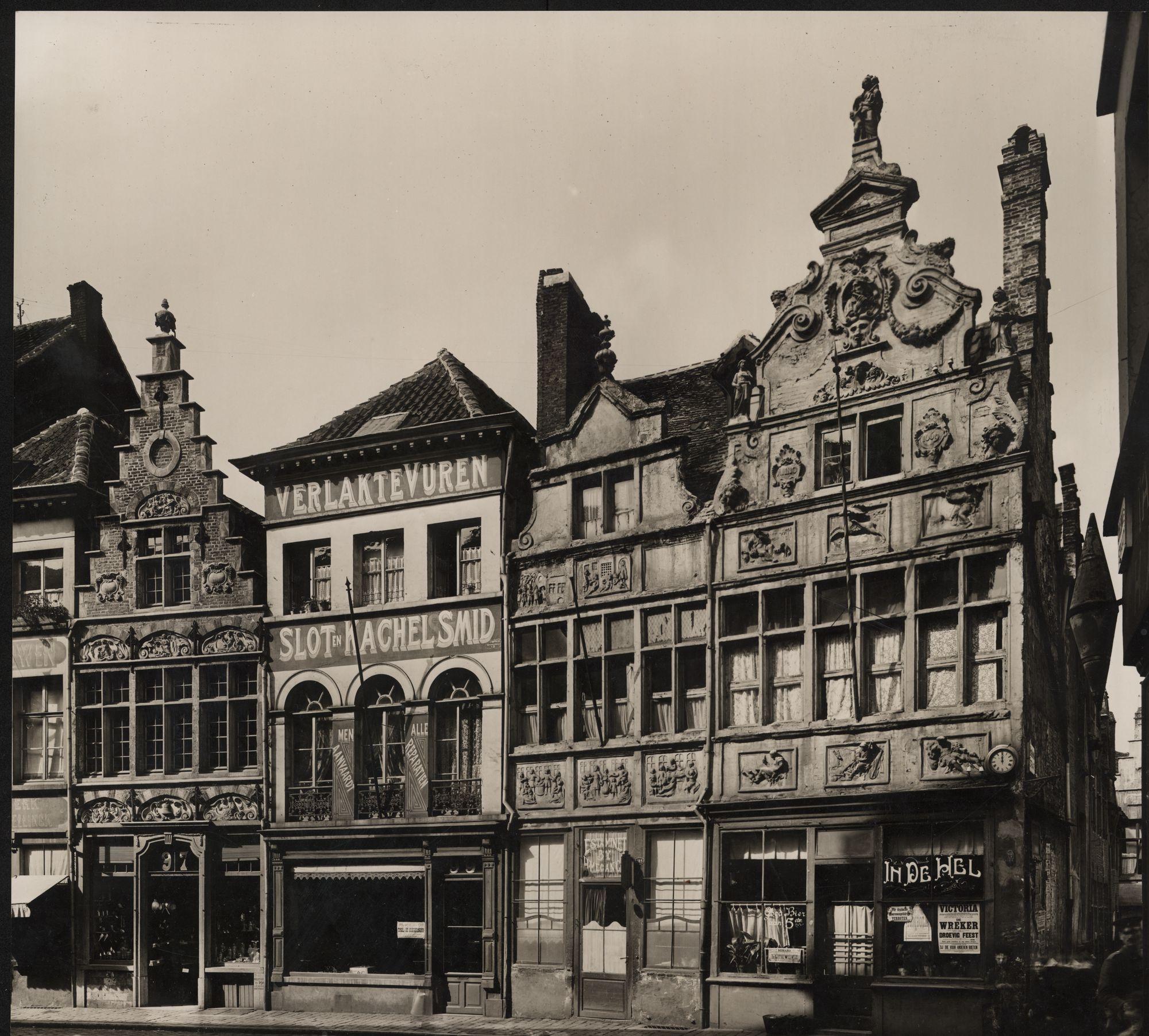 Gent, Kraanlei, van links naar rechts: