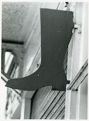 Gent: Tentoonstellingslaan 15: Uithangbord, 1979