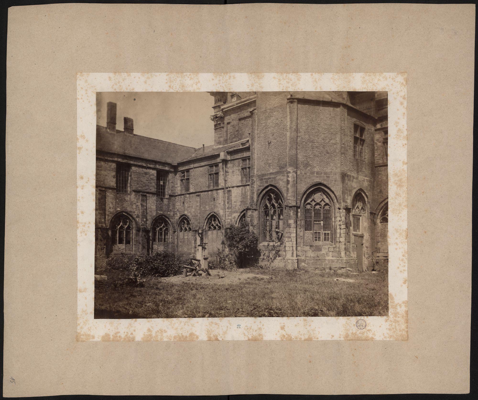 Gent: Sint-Pietersabdij,lavatorium en kruisgang