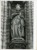 Gent: Botermarkt: stadhuis: nisbeeld: Isabella van Portugal