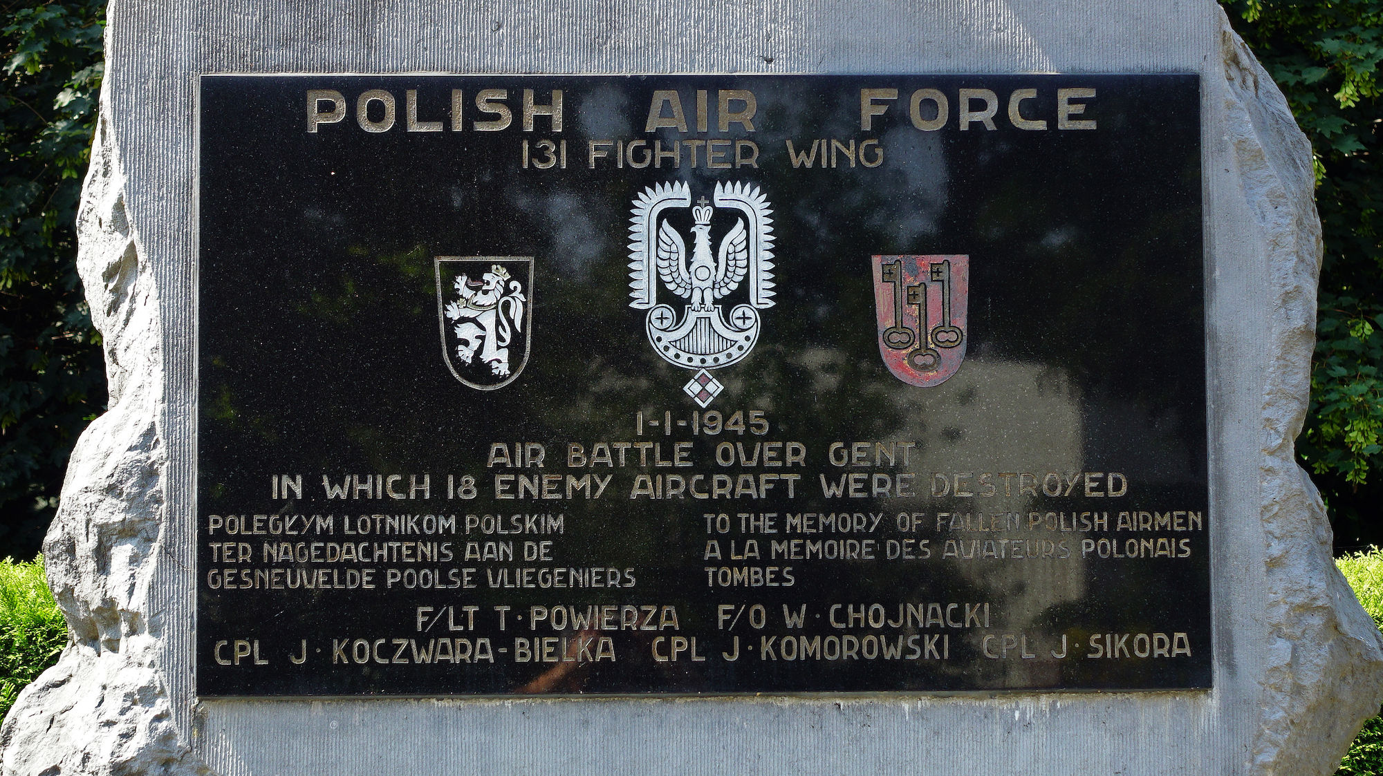 monument Poolse Luchtmacht