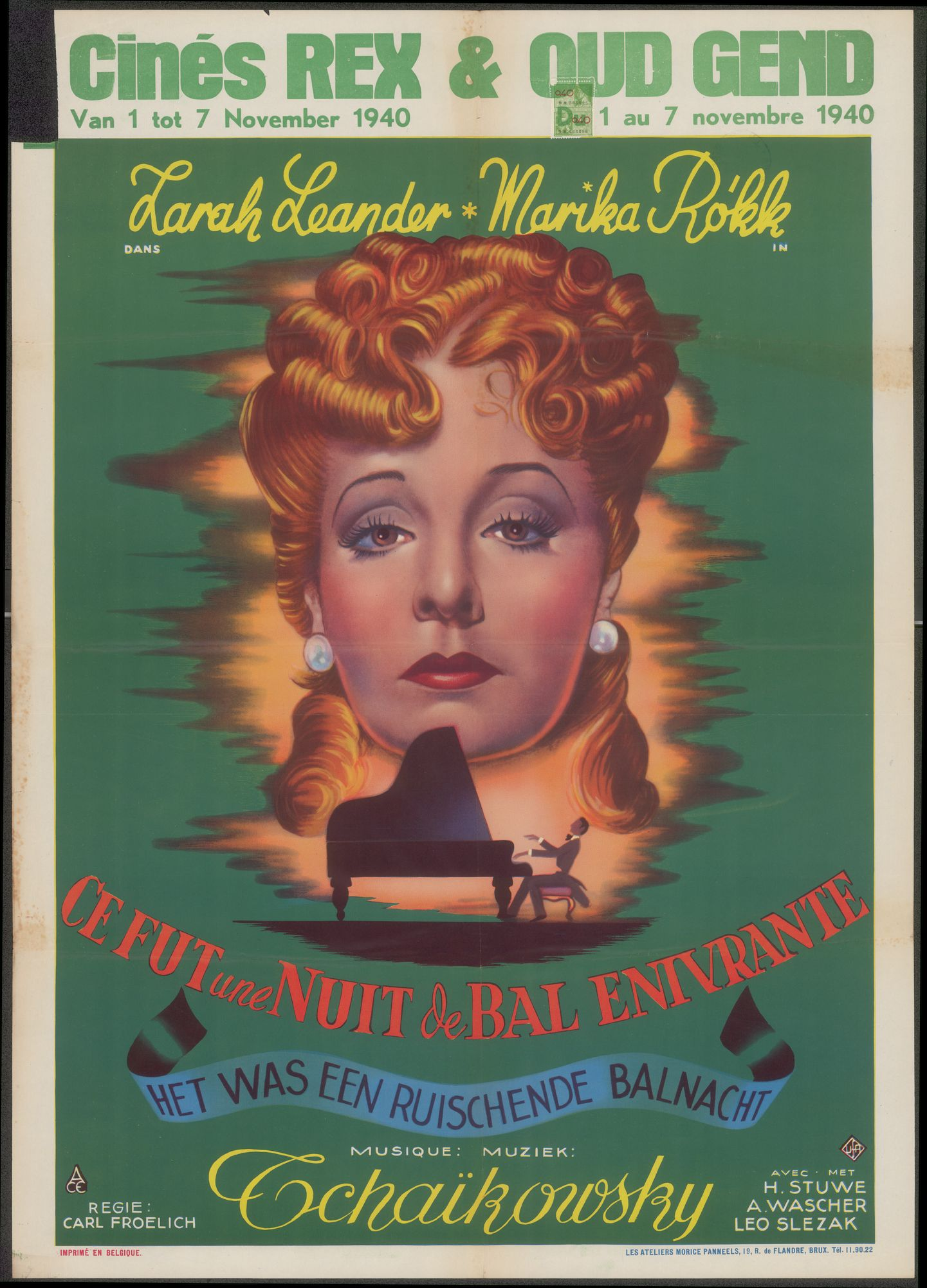 Filmaffiches 1940-1944
