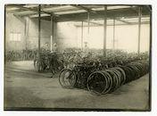 Gent (?): fietsendepot, 1915-1916