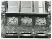 Gent: Onderstraat 10: Beeldhouwwerk, 1980