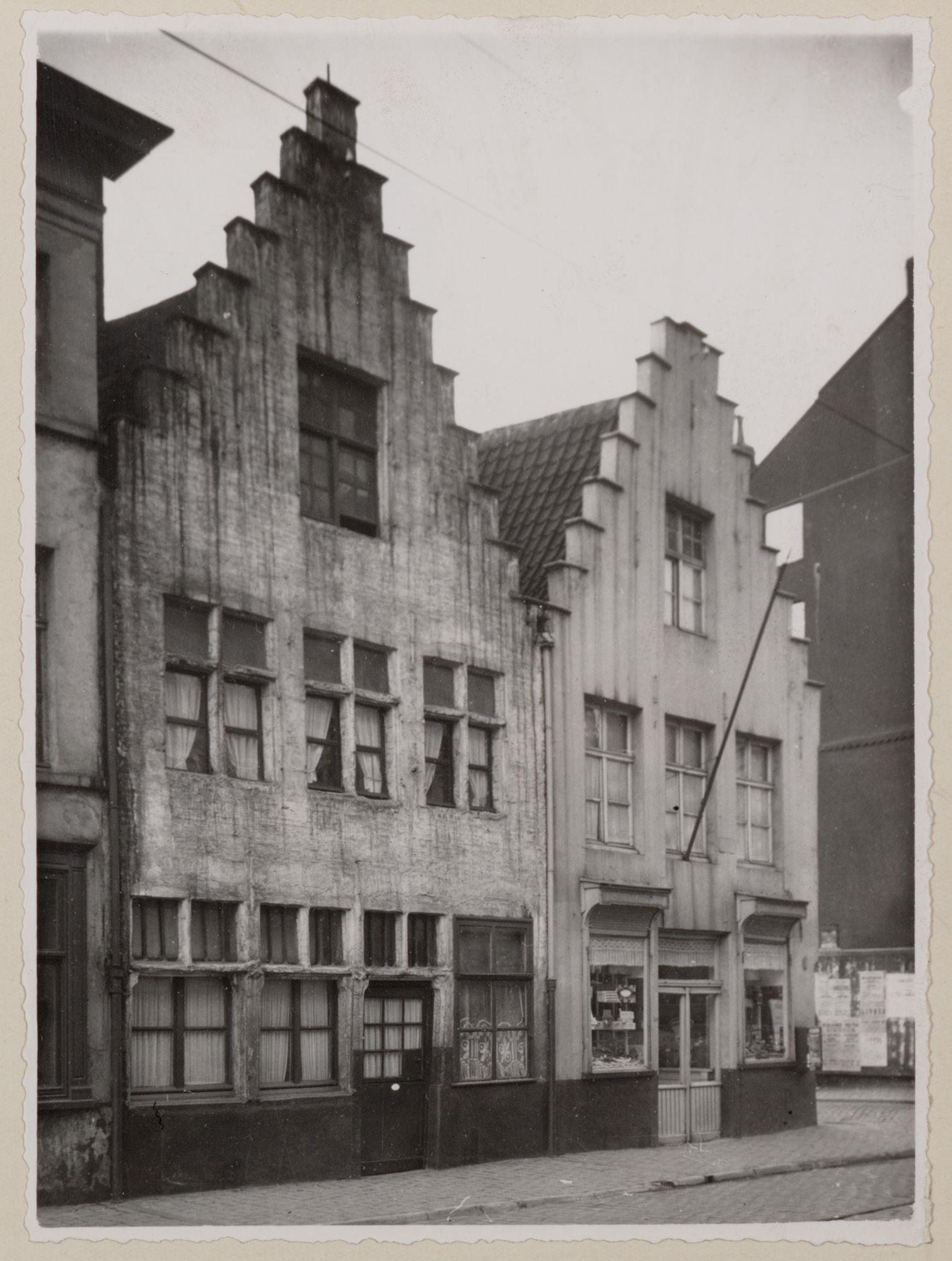 Gent: Trapgevelhuizen, Lange Violettestraat