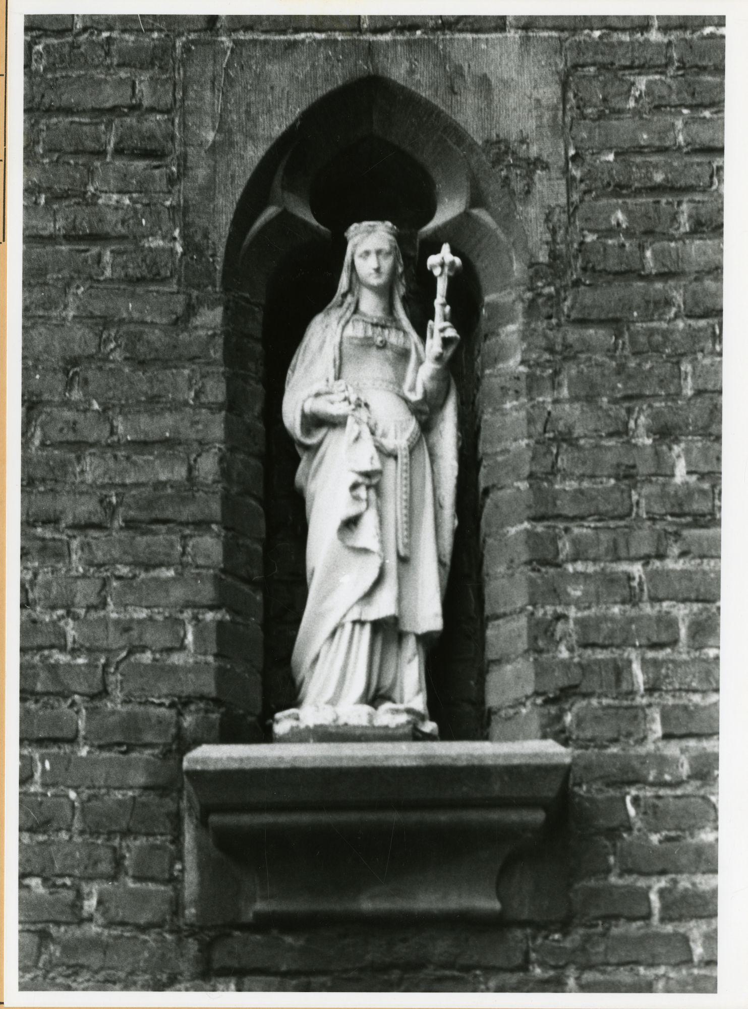 Gent: Keizervest 5: Gevelbeeld, 1979