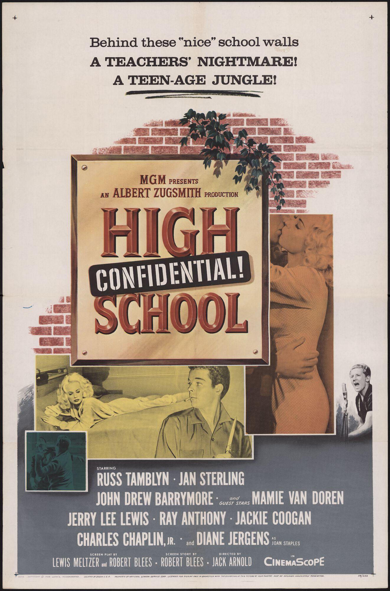 High School Confidential!, [Majestic], Gent, juni 1959