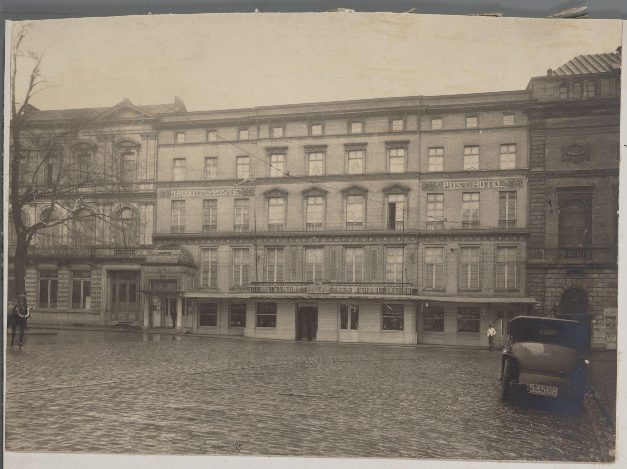 Gent: Posthotel, Kouter